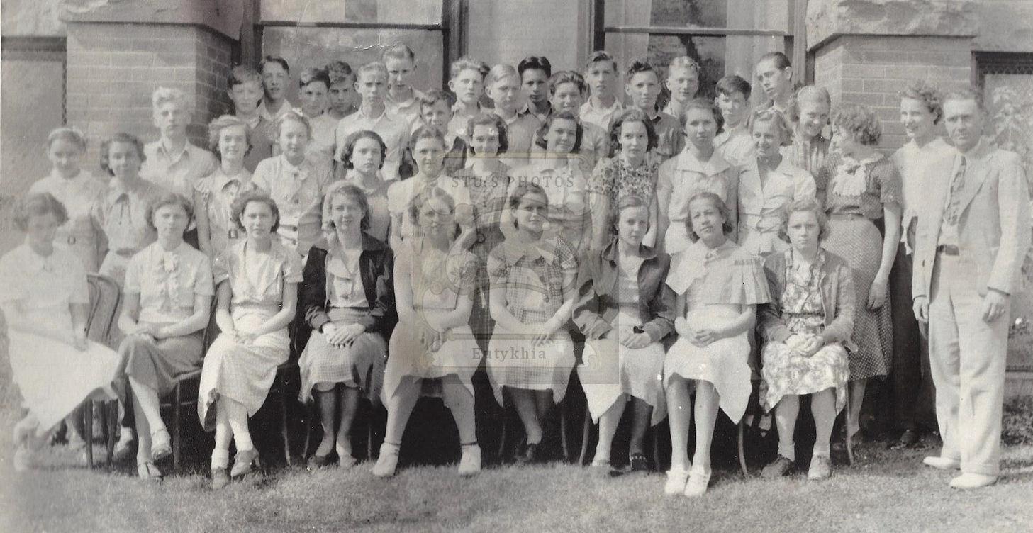 1936                                                           Blackduck                                                           Minnesota High                                                           School                                                           Freshman Class                                                           original                                                           photograph