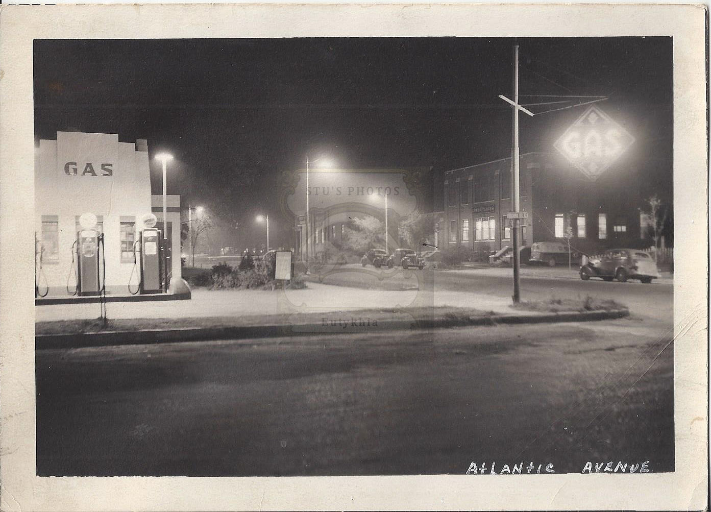 Thief                                                           River Falls,                                                           MN Vintage                                                           1940's Service                                                           Gas Station                                                           & Tank                                                           Truck CO-OP                                                           Assoc. Three                                                           photographs