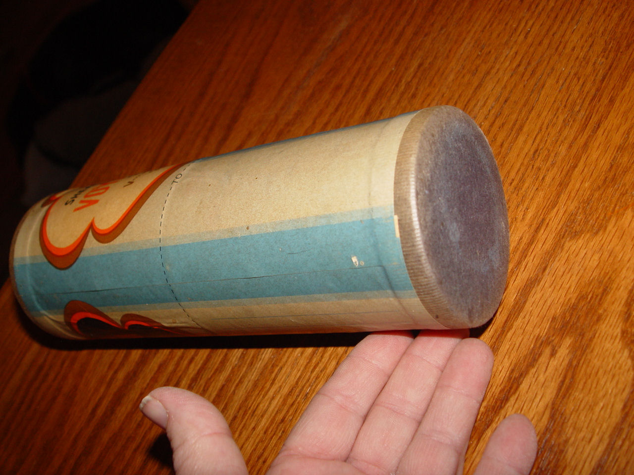 1940's Rare                                         Sheaffer Pen Company's V-Mail                                         canister un-opened! Great                                         Display WWII